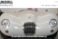 Russell Classic cars - bespoke classic cars - servicing and maintenance