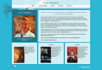 Jane Prowse - author and television / theatre producer and director